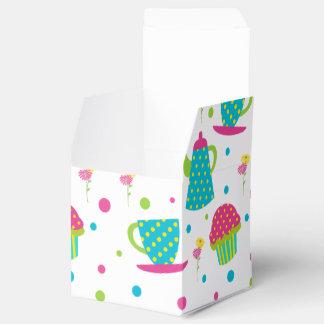 Té y magdalenas cajas para regalos de fiestas