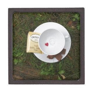 Té y romance cajas de joyas de calidad