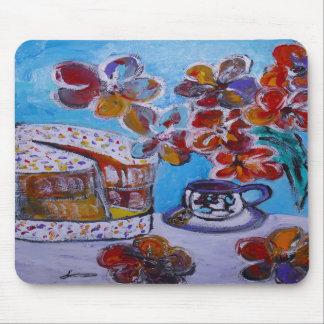 Té y torta Mousemat Tapetes De Raton