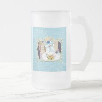 Tea and Crumpets White Poodle Tea Party Coffee Mug