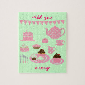 """""""Tea and Cupcakes"""" Puzzle"""