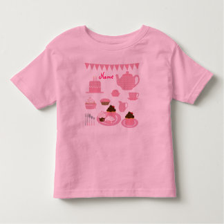 """Tea and Cupcakes"" T-Shirt"