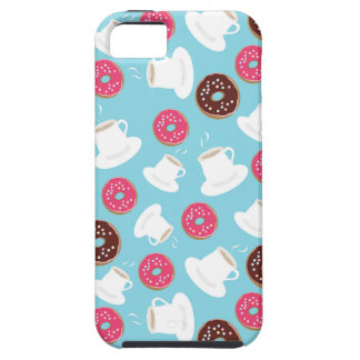 Tea and donuts iPhone 5 covers