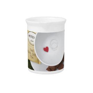 Tea and Romance Drink Pitcher