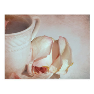 Tea and Roses Postcard