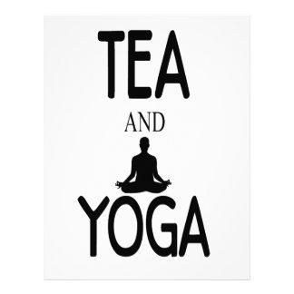 Tea And Yoga Letterhead