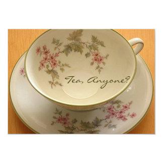 TEA, ANYONE? invitation