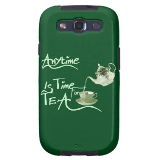 Tea Anytime Samsung Galaxy SIII Cases
