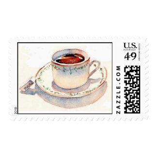 Tea at The Paris Ritz Postage