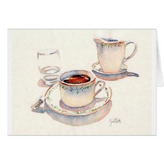 Tea at the Ritz, Paris Greeting Card