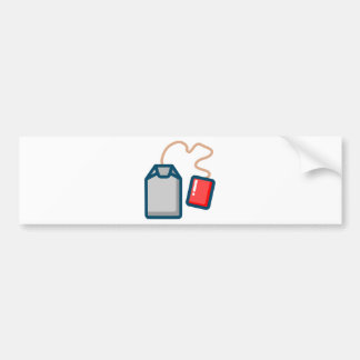 Tea Bag Bumper Sticker