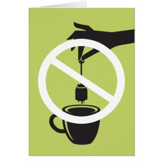 Tea Bag Card