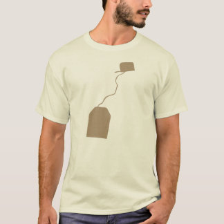 Tea Bag Cup of T Bagging Green Earl Gray Lover T-Shirt