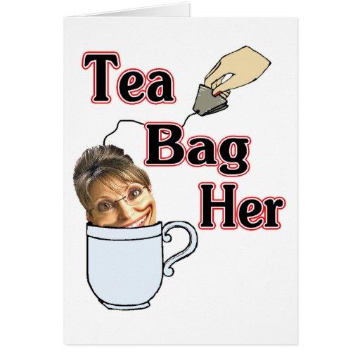tea bag-her greeting card