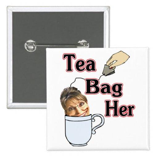 tea bag-her pinback button