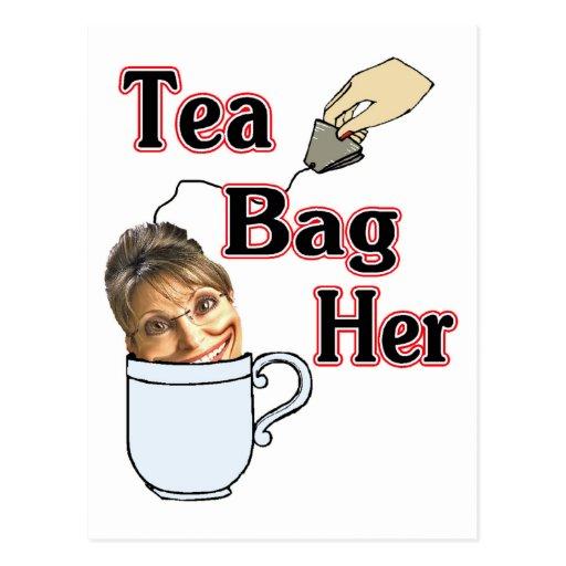 tea bag-her postcard
