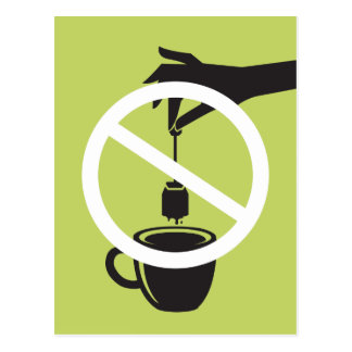 Tea Bag Postcard