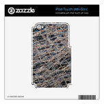 Tea bag under the microscope iPod touch 4G skin