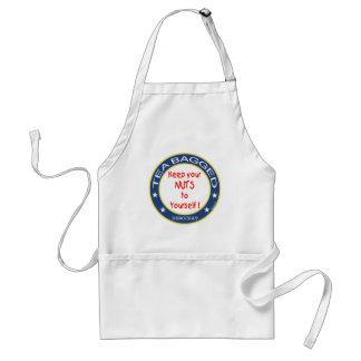 Tea Bagged Democrat Adult Apron