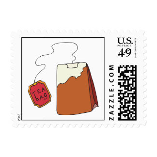 Tea Bagged Stamps