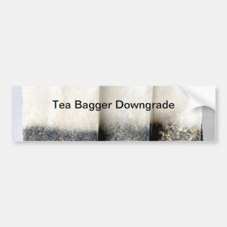 Tea Bagger Downgrade Bumper Sticker