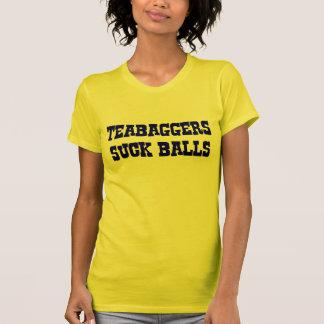 Tea Baggers Suck Balls. T-Shirt