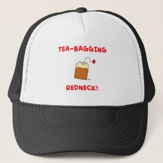 tea-bagging redneck trucker hat