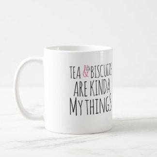 Tea & biscuits are kinda my things mug