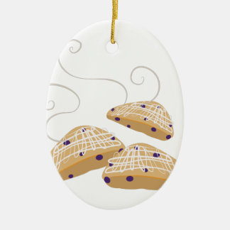 Tea Biscuits Ceramic Ornament