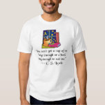 Tea & Books w Quote Kids EDUN LIVE Organic T Tshirts