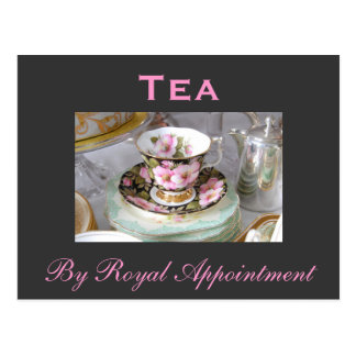 Tea 'By Royal Appointment' Postcard