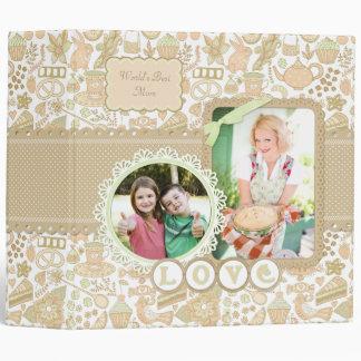 Tea Cake Floral 2 Mother's Day Custom Album Binder