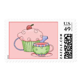 Tea & Candy Postage