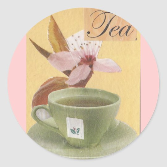 Tea Classic Round Sticker