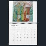 "Tea, Coffee and Cups Calendar<br><div class=""desc"">Tea,  coffee and cups art by Robin Maria Pedrero</div>"
