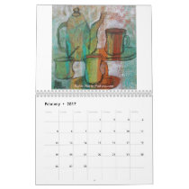 Tea, Coffee and Cups Calendar