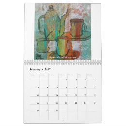 Tea, Coffee and Cups Calendar