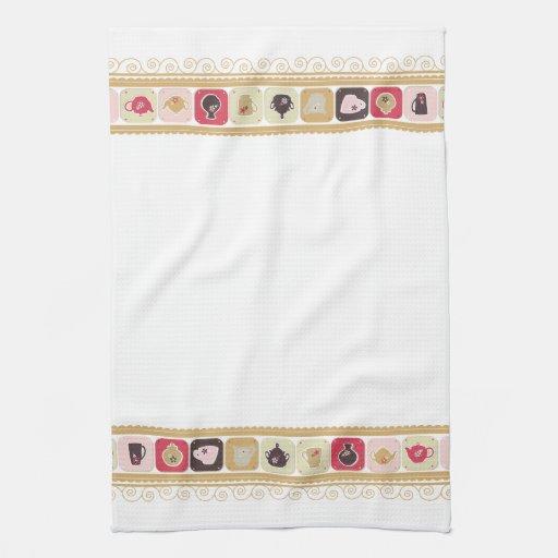 Tea & Coffee - Kitchen Set - Tea Towel   Zazzle