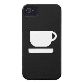 Tea / Coffee Pictogram iPhone 4 Case