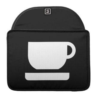 Tea / Coffee Pictogram MacBook Pro Sleeve