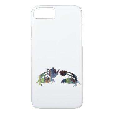 Beach Themed Tea crabs iPhone 7 case