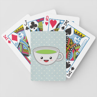 Tea Cup Bicycle Playing Cards