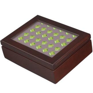 Tea Cup brown Keepsake Box