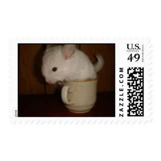 Tea Cup Chinchilla Stamps