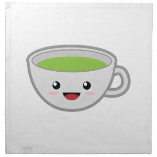 Tea Cup Cloth Napkin