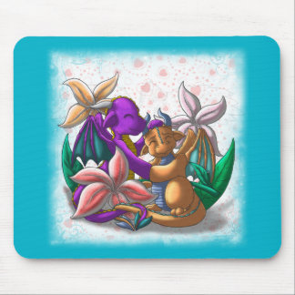 [Tea Cup Dragons] Lily Couple Mouse Pad