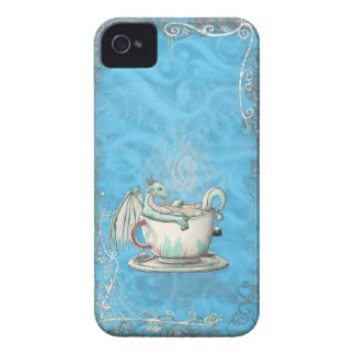 Tea Cup Dragons: Peppermint iPhone 4 Covers