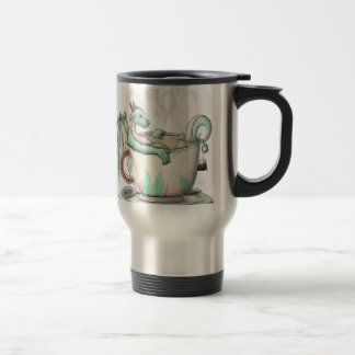 Tea Cup Dragons: Peppermint (Clear)