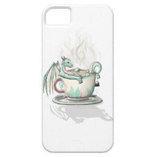 Tea Cup Dragons: Peppermint (Clear) iPhone 5 Cover