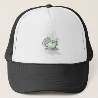Tea Cup Dragons: Peppermint (Clear) Trucker Hat